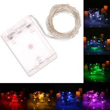 waterproof christmas light connections 50 leds 5m 16 4ft outdoor copper led string light wire rgb fairy