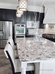 Variation Choices From Kitchen Craft Cabinets Moon White Granite Dark Kitchen Cabinets Kitchen Ideas