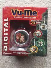 vu me digital photo ornament decoration frame display up to