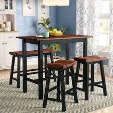 bar height dining room sets counter height dining sets you ll love wayfair