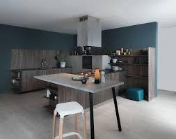cuisine bleu petrole design interieur peinture cuisine bleu pétrole couleur tendance
