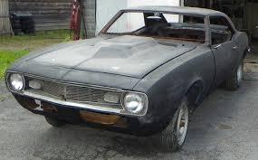 1968 camaro project car for sale find used 1968 camaro project solid car original quarters