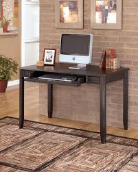 Black Home Office Desks by Carlyle Black Home Office Small Leg Desk H371 10 Home