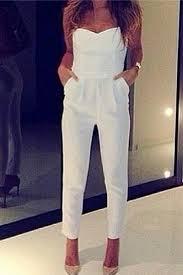 white sleeveless jumpsuit cheap fashion white jumpsuits sleeveless solid regular jumpsuit