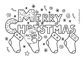 merry christmas words coloring merry christmas banner printable