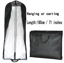 wedding dress garment bag beilite wedding dress garment bag dust cover storage travel bag