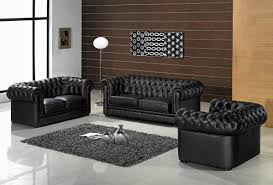 Living Room With Dark Brown Sofa by Black And White Living Room With Accent Color White Sofa White