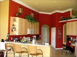 kitchen blue painted kitchen cabinets cream colored kitchen
