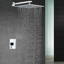 Install Shower Head In Bathtub 1 Way Shower Set Pre Install Shower Box Valve Panel 10 Inch