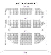 palace theatre manchester seating plan manchester boxoffice co uk