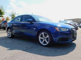 audi a3 scuba blue certified pre owned 2015 audi a3 2 0t premium 4dr car in