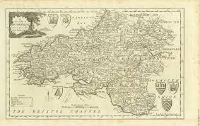 Map Of Wales Antique Map Of South Wales