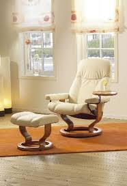 stressless consul recliner chair ergonomic lounger and ottoman by