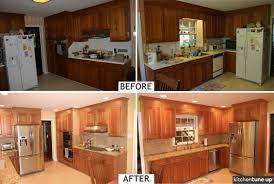 tile countertops natural cherry kitchen cabinets lighting flooring