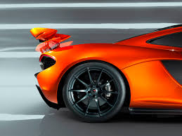 orange mclaren rear mclaren p1 paris design concept u2013 rear quarter closeup alloy wheel