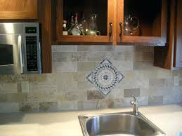 red kitchen faucet red brick tile backsplash orange glass red brick tiles for walls