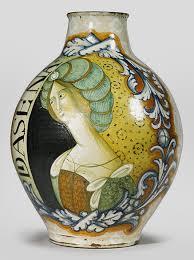 Italian Vase Maiolica Italian Renaissance Ceramics