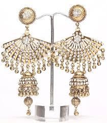 jhumki style earrings indian style jewelry jhumki style earrings online shopping