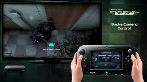 video covert splinter cell blacklist wii u gamepad features