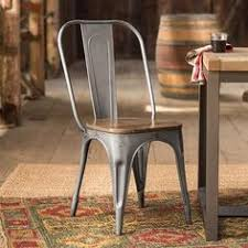 Copper Bistro Chair Tabouret Brushed Copper Wood Seat Bistro Chairs Set Of 2 By I