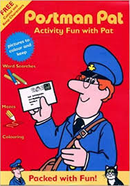 buy postman pat activity fun pat book prices