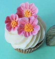 wedding cake accessories cherry blossom gumpaste cupcake toppers summer wedding cake topper