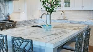 countertops modern minimalist kitchen white marble countertop