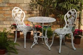 Wrought Iron Patio Bistro Set 5 Piece Wrought Iron Patio Set Laura Williams