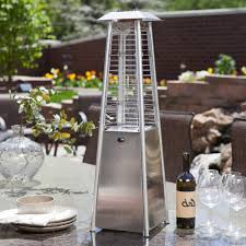 tube patio heater az patio heater stainless steel glass tube tabletop heater