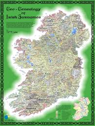 Blank Map Of Counties Of Ireland by Impressum