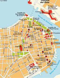 Havana On Map Map Old Havana Cuba Maps And Directions At Map