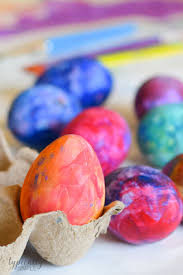 painted easter eggs craft project typically simple