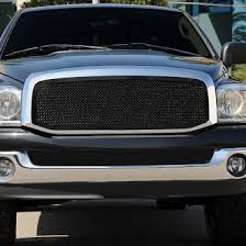 dodge dakota black grill 2006 dodge ram custom grilles billet mesh led chrome black