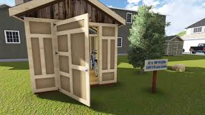 playhouse shed plans 8x10 gable utility shed plan