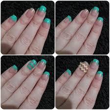 polished nails and puppy dog tales 40 great nail art ideas aqua