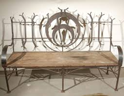Wrought Iron Benches For Sale Wrought Iron Garden Bench Home Outdoor Decoration