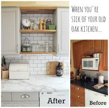 Old Wooden Kitchen Cabinets Fascinating How To Update Old Kitchen Cabinets Pictures Decoration