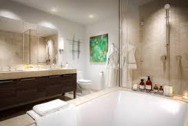 bathroom design boston city residences millennium tower boston