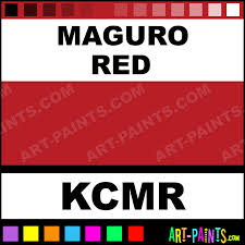 maguro red colors tattoo ink paints kcmr maguro red paint