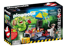 playmobil lamborghini slimer with dog stand ghostbusters playmobil playmobil