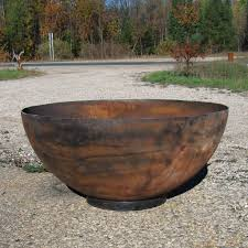 Steel Firepit Big Bowl O Zen 37 Recycled Steel Firepit Available From W Flickr