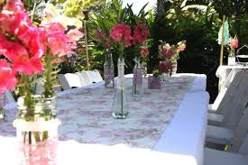 centerpieces for party tables garden party table decoration ideas webzine co