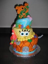 awesome sponge bob cake pastissos dibuixos pinterest