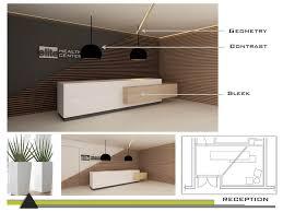 Reception Desk Miami Concept Presentation Miami Interior Design By Dkor Interiors