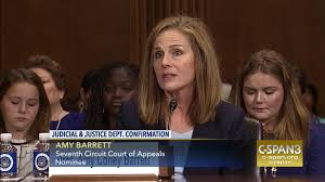 amy coney barrett testifies seventh circuit confirmation hearing