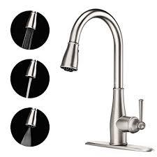 unique kitchen faucets clofy kitchen sink faucet unique sweep spray sink faucet with