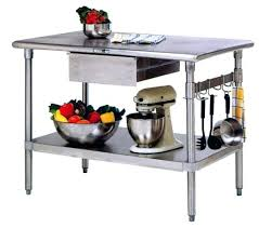 metal kitchen work table steel kitchen island kitchen island with stainless steel top metal