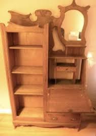 Secretary Desk Bookcase Oak Aesthetic Movement Secretary Bookcase Antiques Pinterest