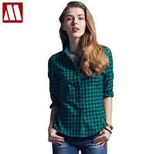 plus size blouses and tops 2018 fashion casual lapel plus size blouses plaid
