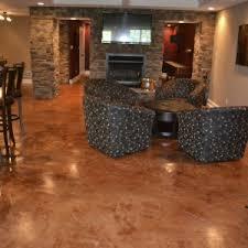 Cheap Basement Flooring Ideas Basement Choosing The Right Thing With Painting Basement Floor
